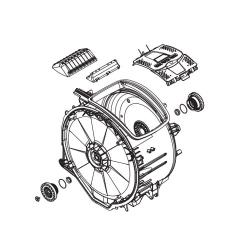 Бак для стиральной машины Electrolux 4055130167
